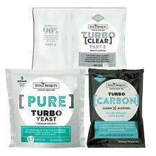 Still Spirits Pure Turbo Yeast, TurboClear, Liquid Carbon