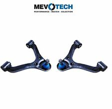 For Pair Set of Front Upper Left & Right Control Arms & Ball Joints Mevotech