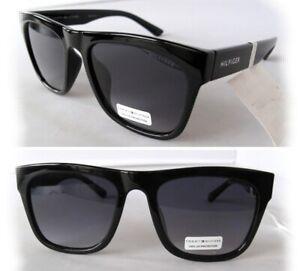New TOMMY HILFIGER Mens Sunglasses Kim Black/Purple $60