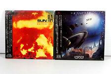 SUN RA ~ JAPAN MINI LP CD x 2 ALBUMS, ORIGINAL, RARE, OOP