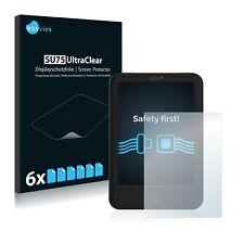 6x Savvies Displayschutzfolie Tolino Shine 2 HD Schutzfolie klar