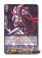 Cardfight Vanguard  x 4 Star-vader of Silence, Dilaton - BT17/047EN - R Mint