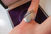 Toller 925 Silber Ring Desigener Avangard passt zu allem
