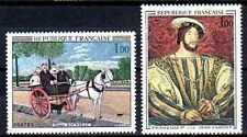 France 1967 Yvert n° 1517 et 1518 neuf ** 1er choix