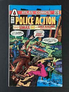 POLICE ACTION #3  ATLAS COMICS 1975 FN+