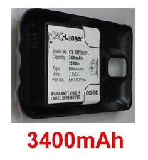 Coque NOIR+ Batterie 3400mAh type EB-L1D7IBA Pour Samsung SGH-T989 Galaxy S II