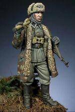 1/35 1:35 soldato tedesco SS resina scena invernale Figura seconda guerra mondiale kit modello
