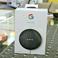 Google Nest Mini 2nd. Generation Smart Speaker w/ Google Assistant - Charcoal