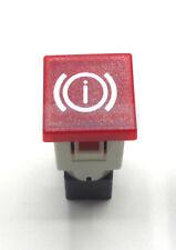 COBO RED BRAKES FAILURE LIGHT DASH BOARD PANEL WARNING LIGHT LAMP 12V 24V 19MM
