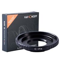 K&F Concept Lens Adapter Ring for C Mount Lens to Fujifilm X FX Mount Cameras