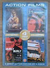 DVD: CHOPPER, EYE OF THE BEHOLDER HURLY BURLY, TAXI: 4 DVD SET