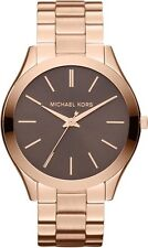 Michael Kors Rose Gold Tone Steel Bracelet Watch Ladies MK3181