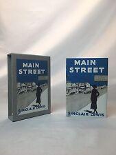Main Street Sinclair Lewis Facsimile FEL First Edition Library Book Slipcase