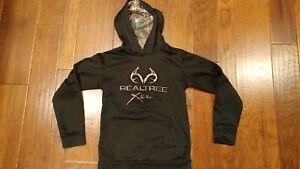 Realtree Black Youth Large Hoodie -Used