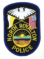 NORTH ROYALTON OHIO OH Sheriff Police Patch STATE SEAL SUNRISE MOUNTAINS RIVER ~