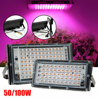 LED Grow Lights Full Spectrum Lamp Panel for Indoor Garden Home Veg Flower Plant