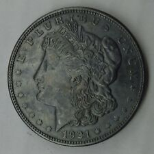 1921- D MORGAN SILVER DOLLAR BEAUTIFUL TONE ONE OF A KIND.