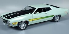 1971 Ford Torino Cobra Lt Green 1:18 Auto World 992