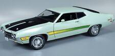 1971 Ford Torino Cobra Lt Green 1:18 Auto World 992