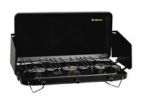Oztrail 3 Burner Portable Gas Camping Stove / Cooker / BBQ