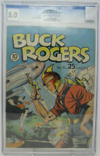 Buck Rogers #1 ~ 1940 Eastern Color ~ CGC 5.0 VG/FN