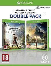 Assassin's creed origen + odisea Doble Pack 1 Original UK release XBOX One