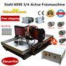 2200W Stahl CNC 6090 Fräsemaschine 3/4 Achsen Router Cutter Engraver für Metal
