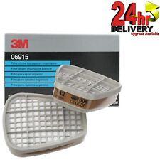 3M 06915 Coppia di gas / VAPORI FILTRI 06000 / 07500 Series Vernice Spray respiratori