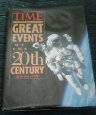 Vintage TIME~Hardcover~ GREAT EVENTS OF THE 20TH CENTURY 1997