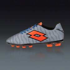 Lotto Solista III TX Men's Reflective Silver Tiger Soccer Shoes $160 NEW US 8.5