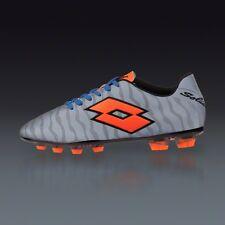 Lotto Solista III TX Men's Reflective Silver Tiger Soccer Shoes $160 NEW US 9.5