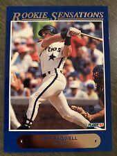 MINT! 1992 Fleer Jeff Bagwell Rookie Sensations Baseball Card #4 of 20 GEM MT