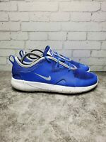 Nike Flex Boys Blue Lace Up Athletic Sneaker AR4151-400 Running Shoes Size 4