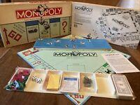 Vintage USA Monopoly Game Parker Brothers 1985 No 0009 Complete All Pieces VGC