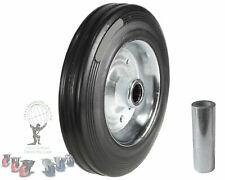 200mm Caravan Jockey Wheel solid virgin rubber heavy duty