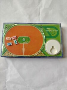 Vintage 1975 Tomy Derby Game Horse Racing Handheld Pocket Game - WORKS