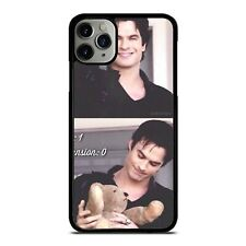 damon and bear vampire diaries Case Phone Case for iPhone Samsung LG GOOGLE IPOD
