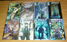 Neon Cyber #1-8 VF/NM complete series - image comics - adrian tsang - lou kang