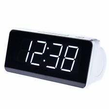 Radiowecker Radio Uhrenradio Wecker Digitaler Wecker Schlafzimmer große Zahlen