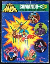 Album La batalla de los planetas: Comando-G contra los monstruos de Spectra FHER