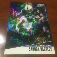 "Saquon Barkley 2019 Panini FATHER'S DAY #'d 30/199 Penn State / NY Giants  ""WOW"""