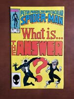 Spectacular Spiderman #92 (1984) 8.5 VF Marvel Key Issue Comic Book Copper Age