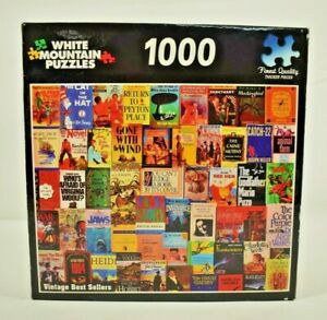 White Mountain - Vintage Best Sellers 1000 Piece Jigsaw Puzzle - 100% Complete