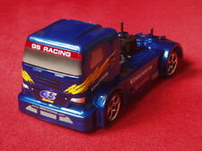 1/10 GS Racing Vision RTH Evo RTR 3-belt Nitro 4WD Trailer Truck, Blue <New>