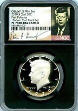 2020 S Kennedy Half Dollar Proof PF70 NGC United States 50c SIGNATURE LABEL