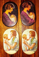 Vintage1920 PRUDENTIAL INSURANCE Mother & Baby Advertising PIN CUSHION lot of 4