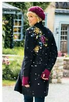 Beautiful Soft Surroundings Lavie rose Long Sweater/coat Size M ECU.