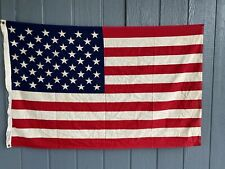 New listing Vintage Golden State Banner Co Cotton Made in Usa Us American Flag 3 x 5 Ft