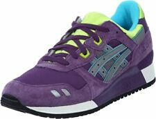 Asics Gel Lyte III HK538 3011 Purple Grey Lace Up Casual Trainers