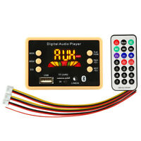 Bluetooth 5.0 MP3 Decoder Decoding Board Module 5V 12V Car USB MP3 Player